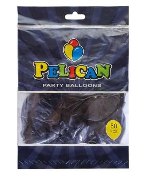 Купить Шарики Pelican 12' (30 см), пастель фиолетовый темный 1250-840, 50шт/уп