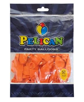 Купить Шарики Pelican 12' (30 см), пастель оранжевый 1250-847, 50шт/уп