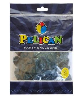 Купить Шарики Pelican 12' (30 см), пастель зеленый бутылочный 1250-853, 50шт/уп