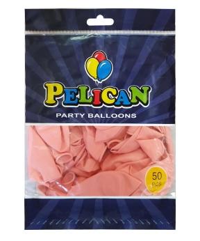 Купить Шарики Pelican 12' (30 см), макарун розовый 1250-932, 50шт/уп