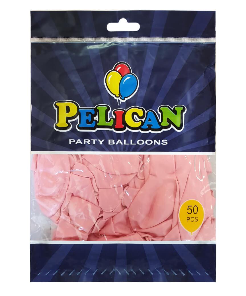 Шарики Pelican 12' (30 см), макарун фиолетовый светлый 1250-934, 50шт/уп