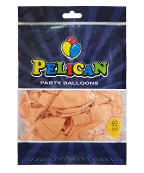 Купить Шарики Pelican 12' (30 см), макарун розовый нежный 1250-935, 50шт/уп