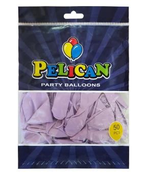 Купить Шарики Pelican 12' (30 см), макарун фиолетовый 1250-937, 50шт/уп