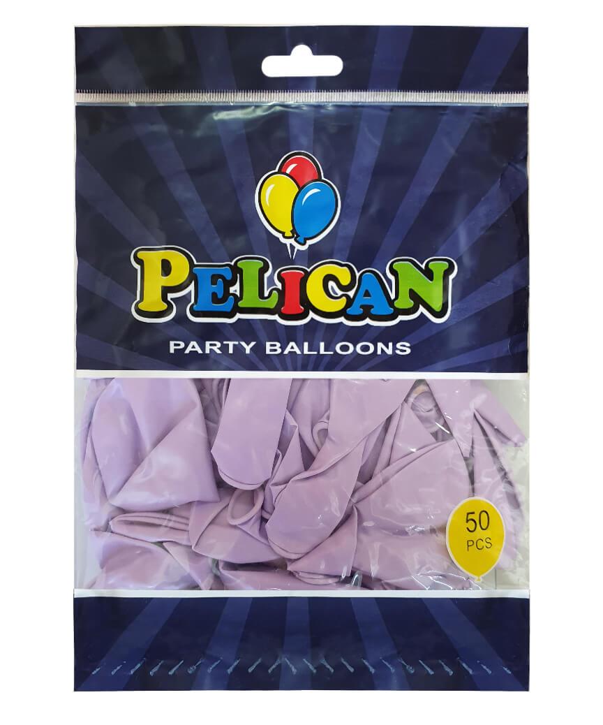Шарики Pelican 12' (30 см), макарун фиолетовый 1250-937, 50шт/уп