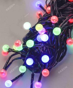 Купить ЖЕМЧУГ  50 LED, 5м+ перехідник, мульті