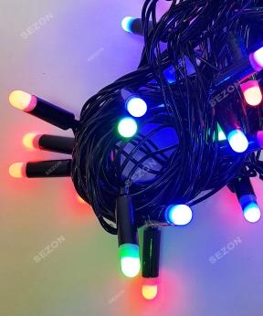 Купить Пальчик  40 LED, 7м+ перехідник, мульті