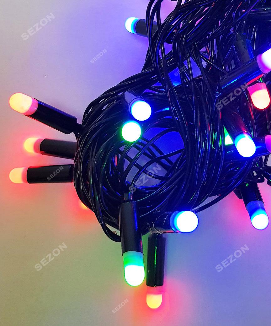 Пальчик  40 LED, 7м+ перехідник, мульті
