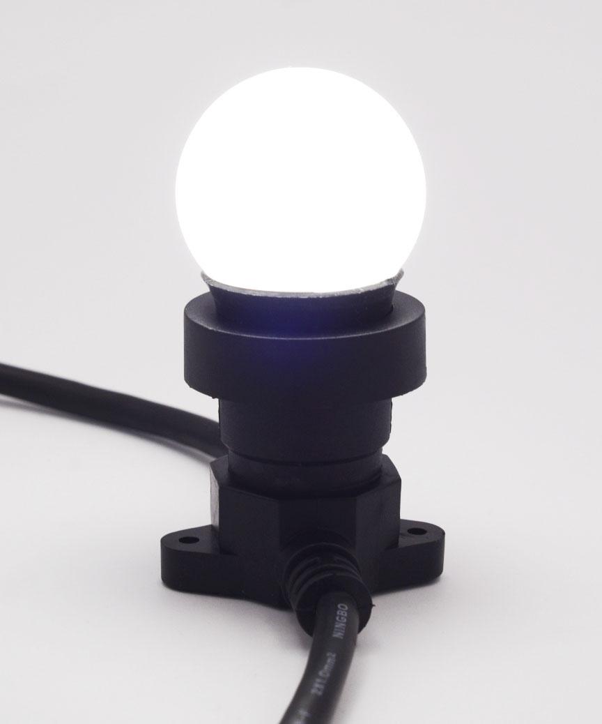 Лампочка LED 3W E-27 біла