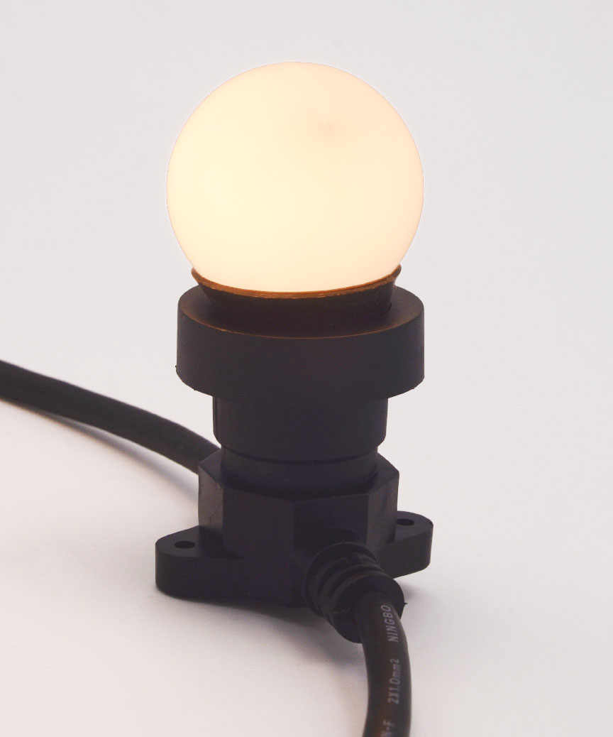 Лампочка накалювання 25W E-27 біла-тепла