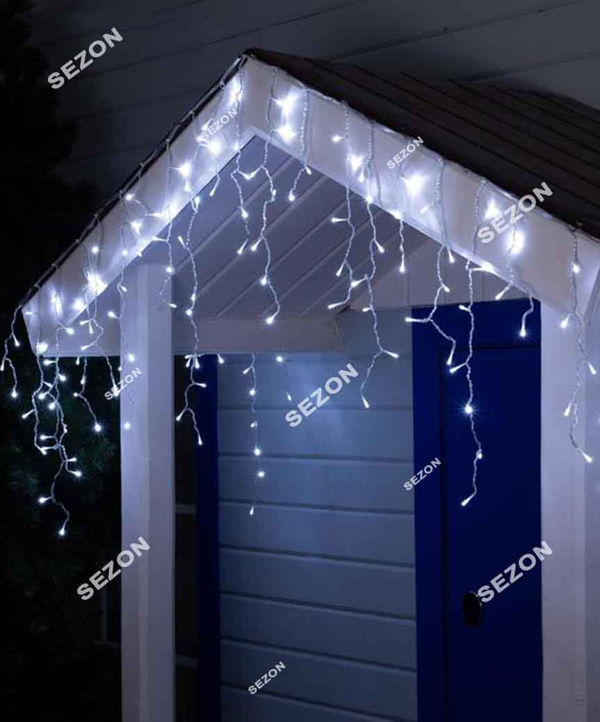 Бахрома 120 LED 3м*0.5м, білий