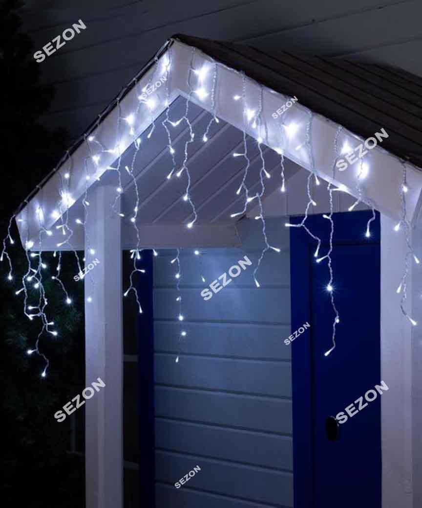 Бахрома 200 LED 5м*0.5м, білий