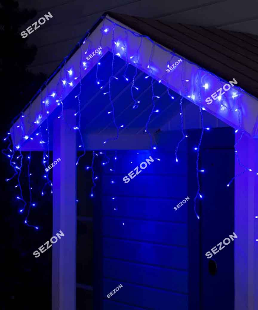 Бахрома 120 LED 3м*0.5м, синій