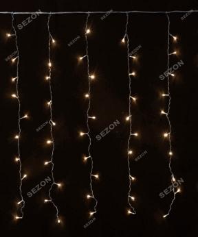 Купить Штора 120 LED   1.8м*1.2м, білий теплий