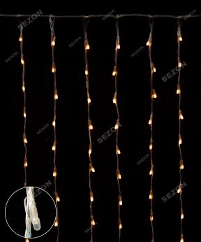 Купить Водоспад- лінза 8мм 240 LED 2m*2m теплий-білий