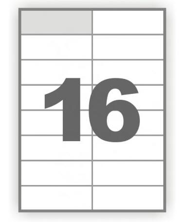 Папір самоклейка 16-1