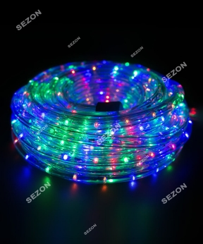 Купить Дюралайт 3-жильн круглий LED 8м, мульті
