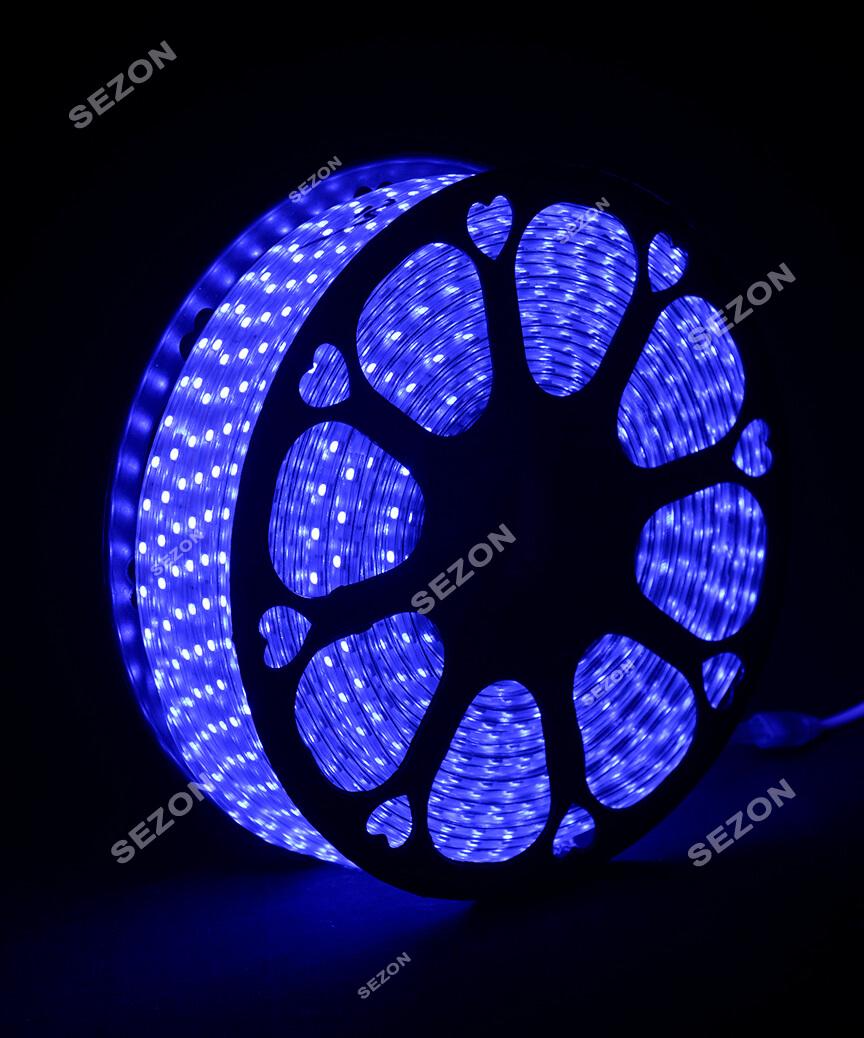 LED стрічка 5050, 80м, синя
