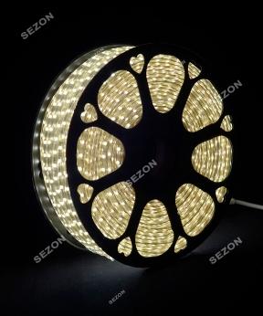 Купить БУХТА 3-жильн. круглий LED 80 м, білий, шт