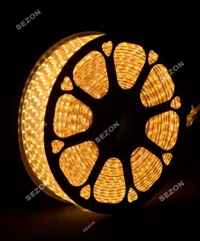 Купить LED стрічка 5050, 80м, теплий білий