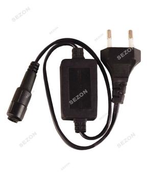 Купить Мережевий шнур LED 2-х жильний   D-94