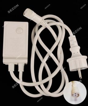 Купить Мережевий шнур для LED стрічки,  2-жильн