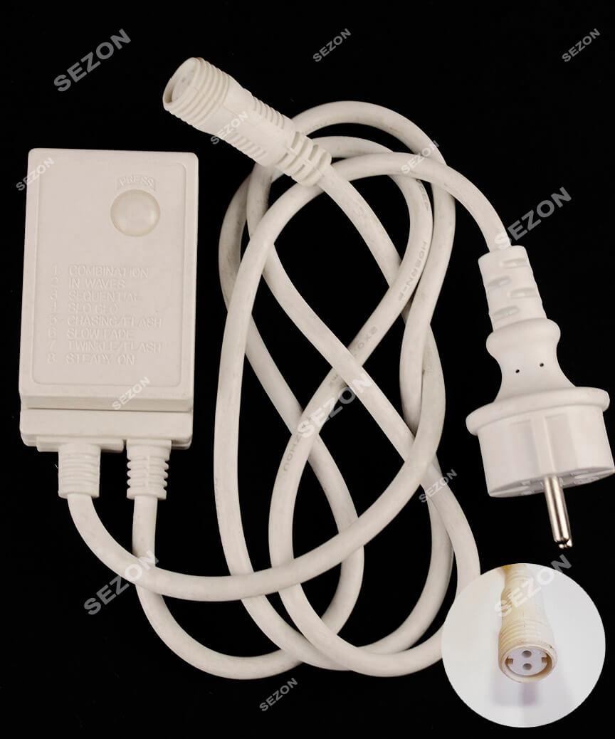Мережевий шнур для LED стрічки,  2-жильн  179502