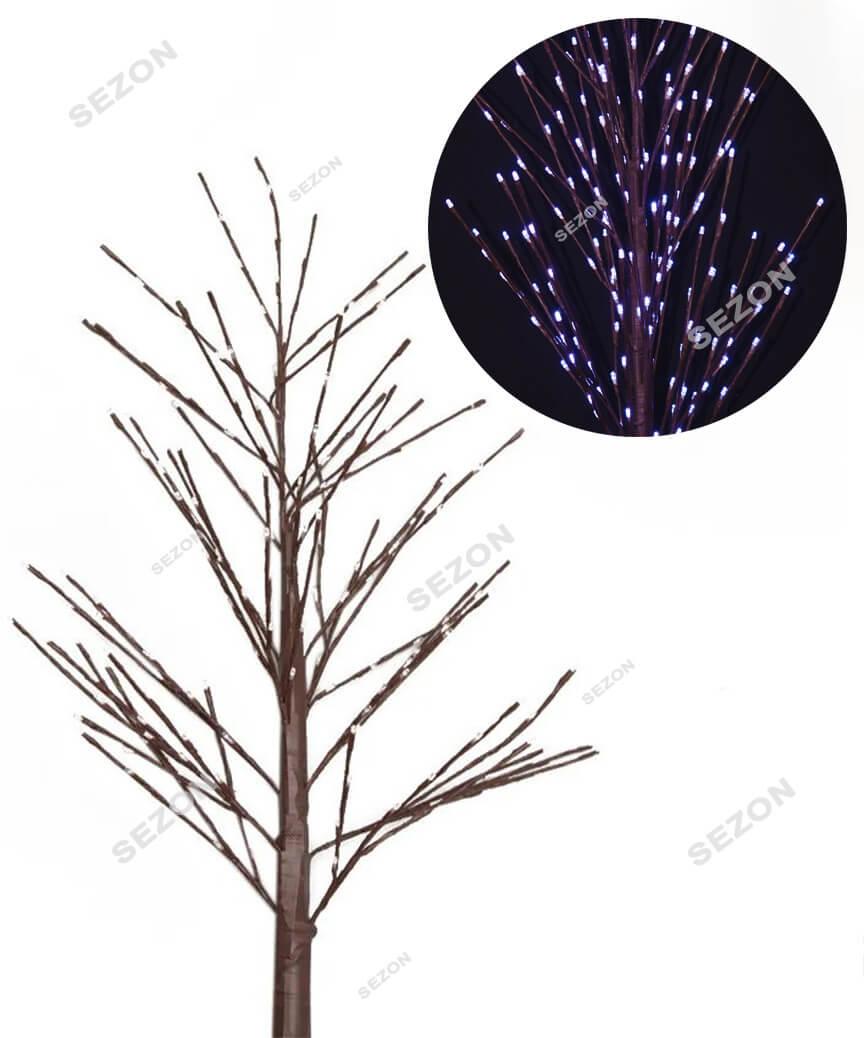 Дерево вуличне 1,5м,  білий