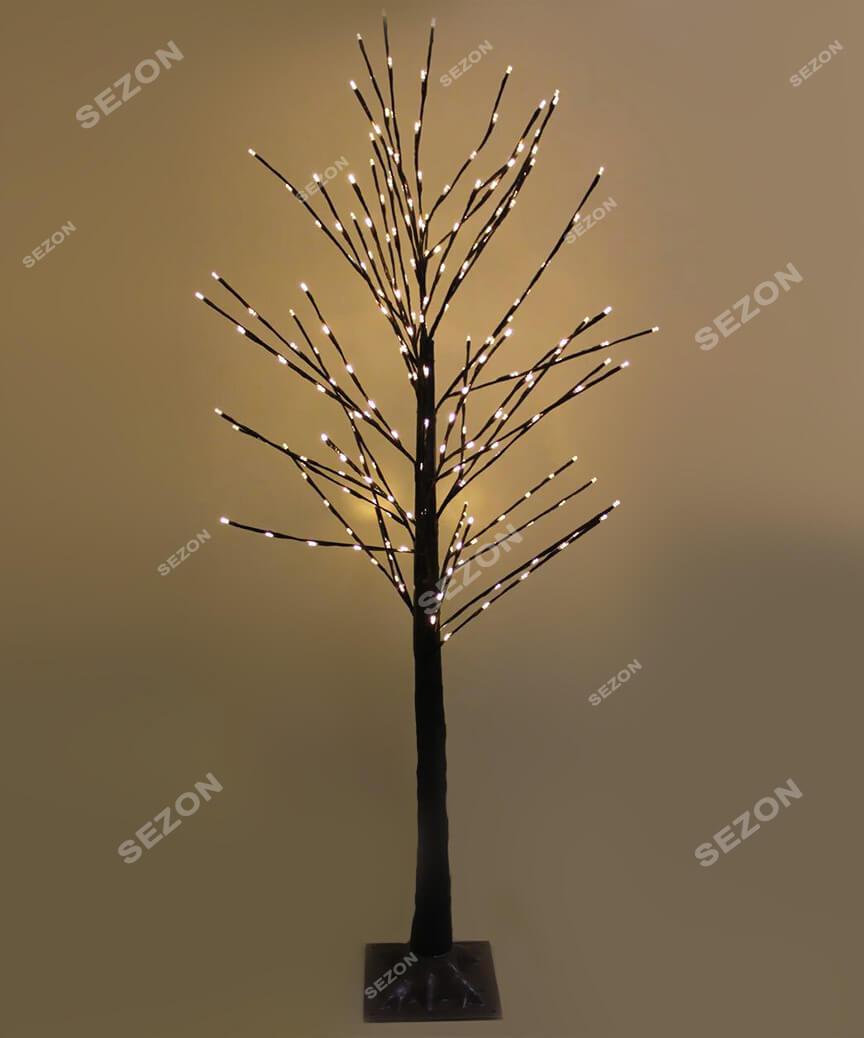 Дерево вуличне 1,5м,  білий теплий