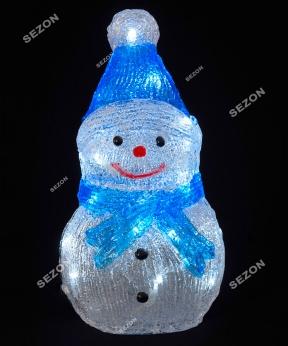 Купить Сніговик акриловий  LED  30 см