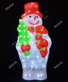 Купить Сніговик акриловий  LED  60 см