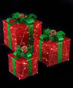 Купить Подарунки  LED,  45 см  червоний