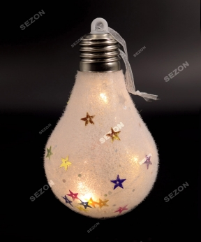 Купить Підвіска на батарейках, лампочка 19-067
