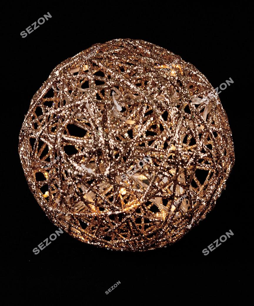 Куля діаметр 20см, золото 19-101-20-G