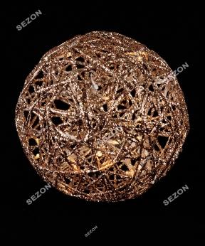 Купить Куля діаметр 20см, золото 19-101-30-G