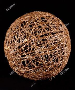Купить Куля діаметр 40см, золото 19-101-40-G