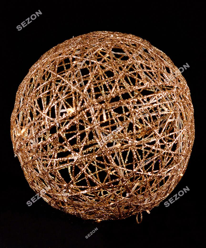 Куля діаметр 40см, золото 19-101-40-G