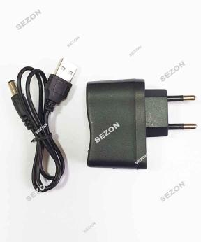 Купить Блок живлення 1А для роси, USB+кабель