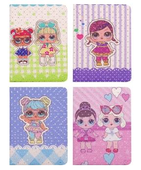 Купить Блокнот А5  80л  кукла LOL  8041   14*21см