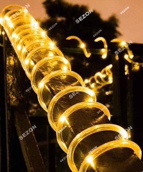 Купить РОСА в силіконовій трубці 100 LED, 10м, білий теплий
