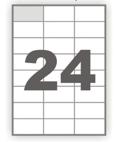 Папір самоклейка 24-1