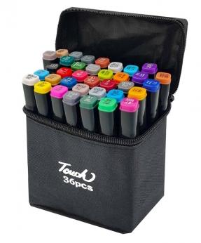 Купить Набор скетч-маркеров 36 цветов  в сумке B-36C-B