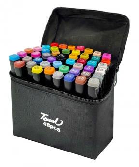 Купить Набор скетч-маркеров 48 цветов в сумке B-48C-B