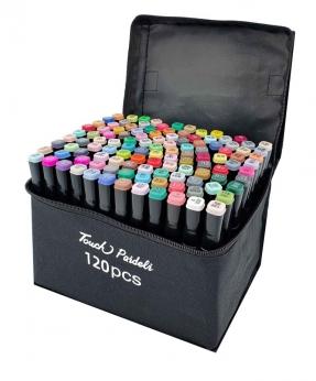 Купить Набор скетч-маркеров 120 цветов в сумке B-120C-B