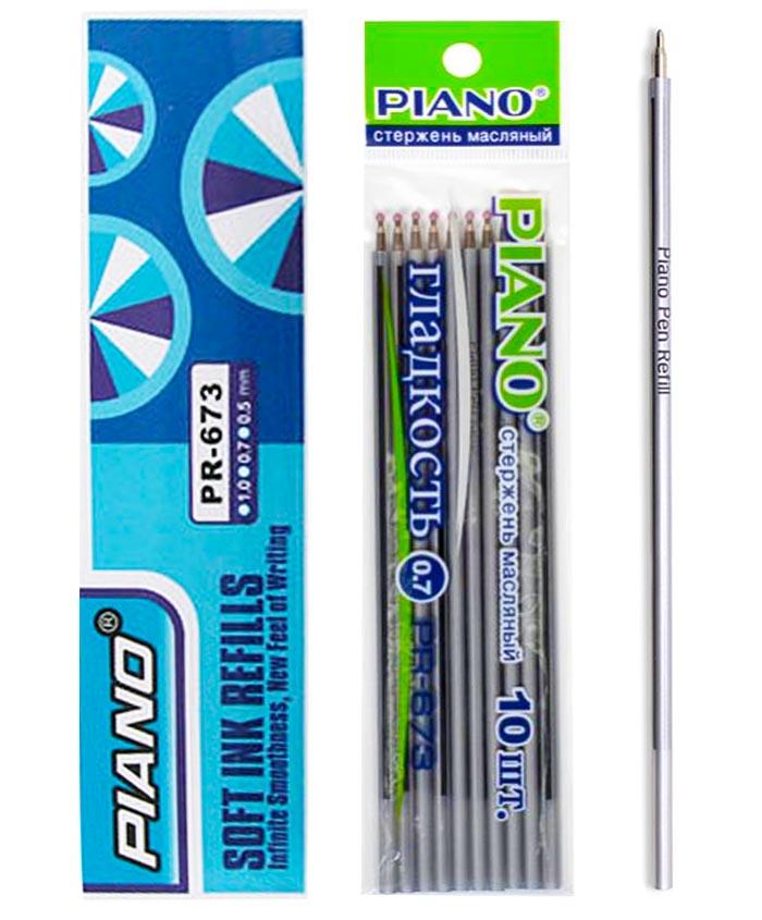 Стержень масляный PIANO PR-673, синий