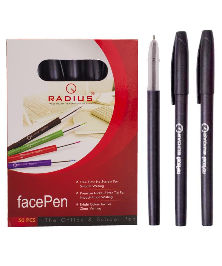 Ручка «FAСEPEN» RADIUS, черная