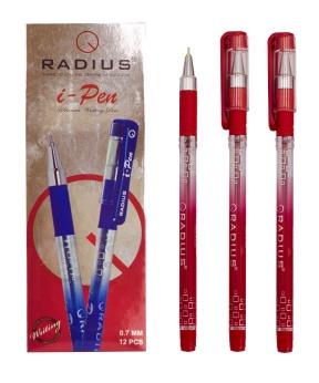 Купить Ручка « i-PEN » RADIUS 0,7мм  красная