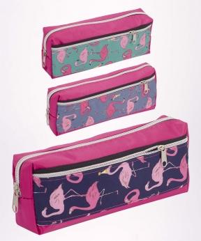 Купить Пенал праздничные Фламинго, 4011  20*6,5*4см