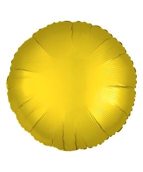 Купить Кулька фольг. Pelican 18', ТАБЛЕТКА САТИН ЗОЛОТО 45 см, (ціна за упак/5шт)