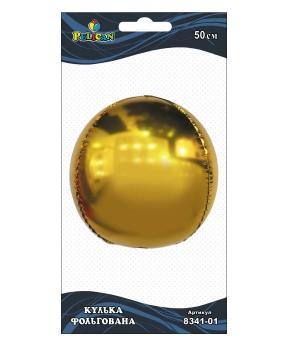 Купить Шар фольг. Pelican 20', сфера золото 50 см, (индивидуальная упак.)