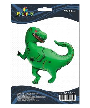 Купить Шар фольг. Pelican, тираннозавр, 83см (индивидуальная упак.)
